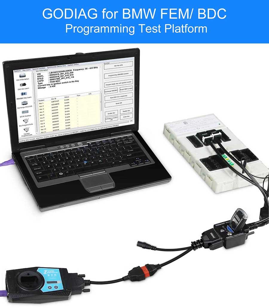 FEM/ BDC programmingtest platform connect with bim tool pro