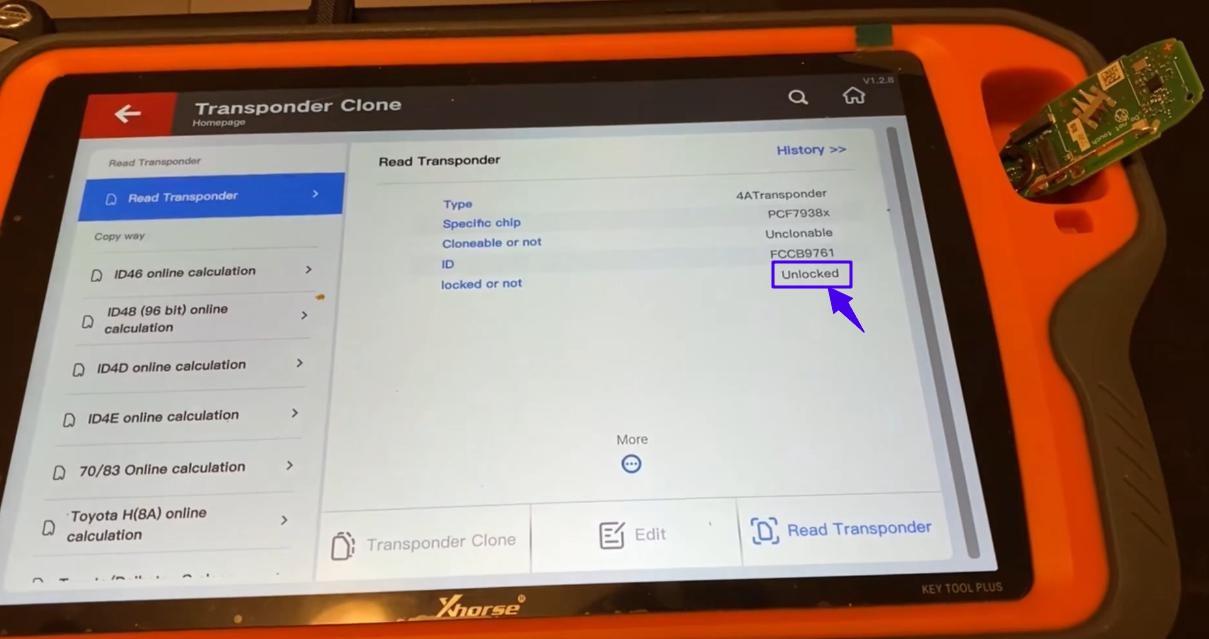 VVDI Key Renew Adapter Guide - unlock smart key