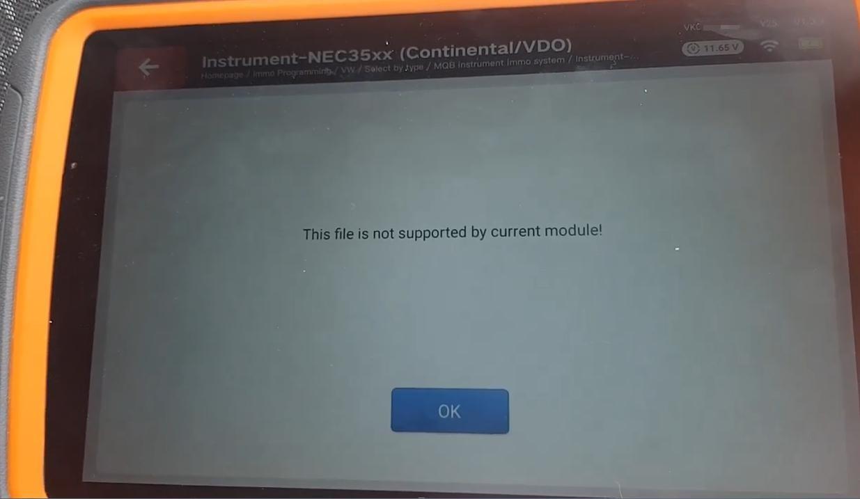 Solve the problem of AKL programming of VW MQB platform by Xhorse
